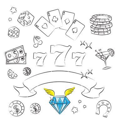 Casino+graphics+vector+290196+-+by+igorij on VectorStock®