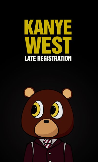 Late Registration Art Print Late Registration Poster Artwork Kanye