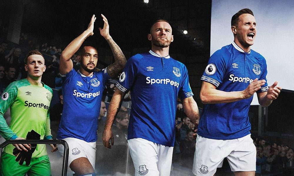 81ecfb8fb Everton 18-19 Home Kit Revealed - Footy Headlines