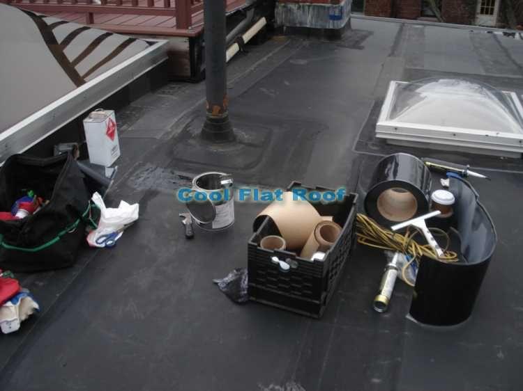 Flat Roof Repair Options Costs And Diy Repair Guides Flat Roof Repair Roof Repair Flat Roof