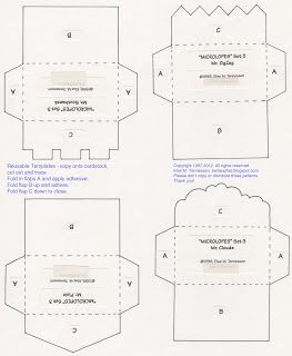 Free Mini Envelope Templates For You Mini Envelopes Template
