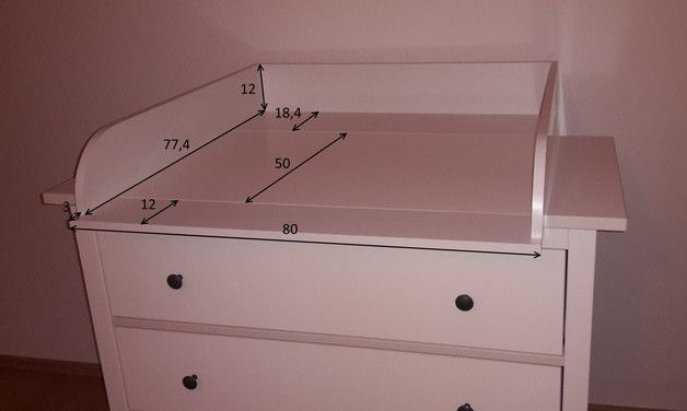 Universal Wickelaufsatz wickelaufsatz universal (z.b für hemnes kommode) | nursery