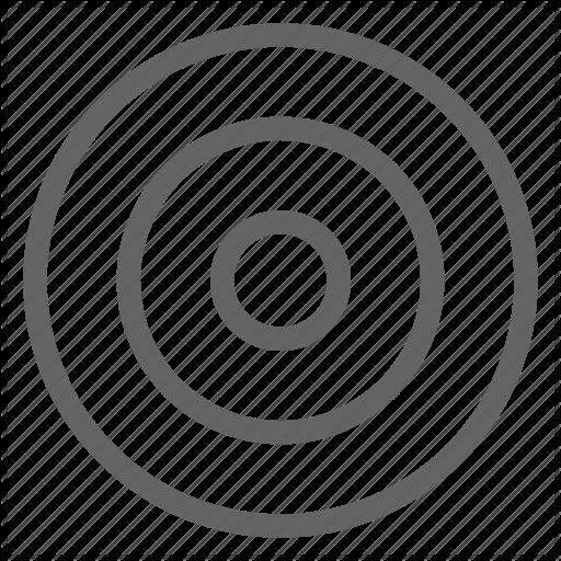 Arrow Bullseye Target Goal Icon Download On Iconfinder Icon Line Icon Bullseye