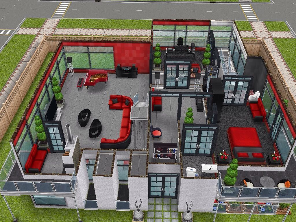 House 106 Level 2 #sims #simsfreeplay #simshousedesign. image number 65 of desain rumah the ... : desain rumah bagus the sims freeplay - ziaartgallery.com