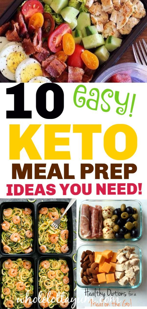 30 Low Carb Lunch Ideas You Can Meal Prep #healthyrecipes