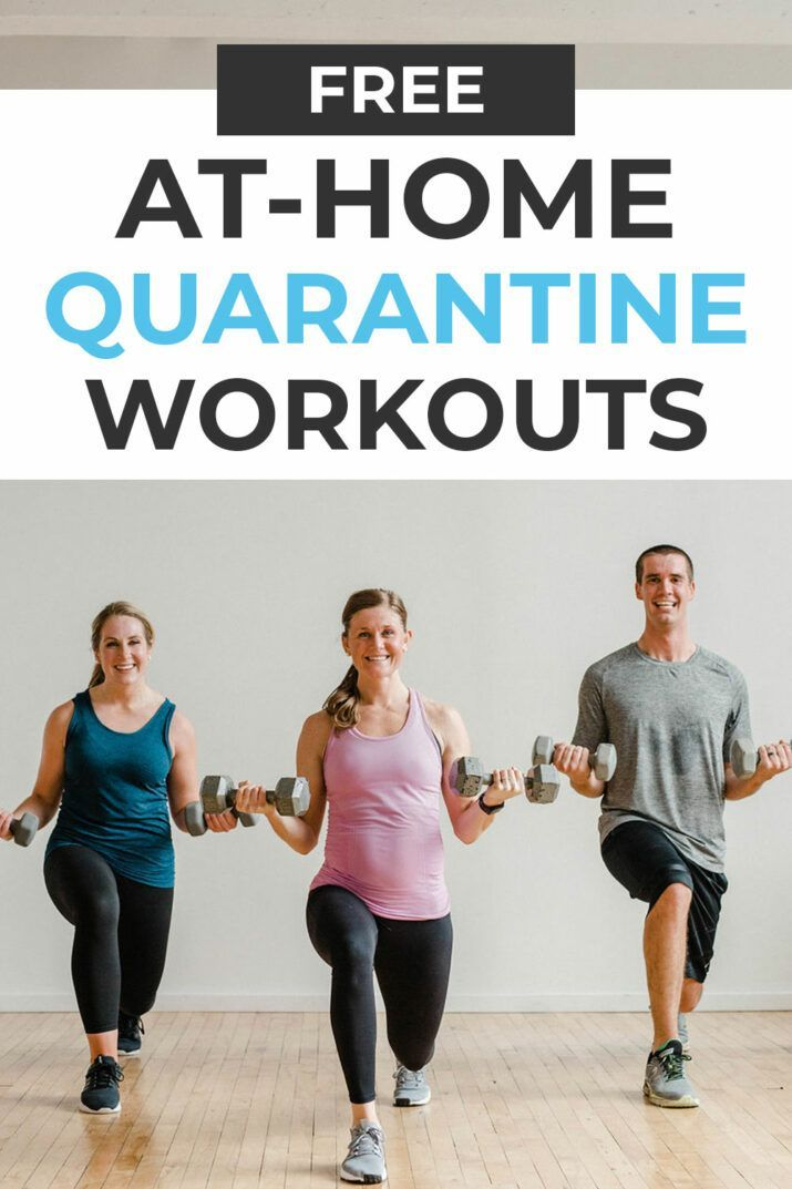 Can't go to the gym? Follow this FREE Home Workout Plan; 15 guided workout videos! All you need is a...