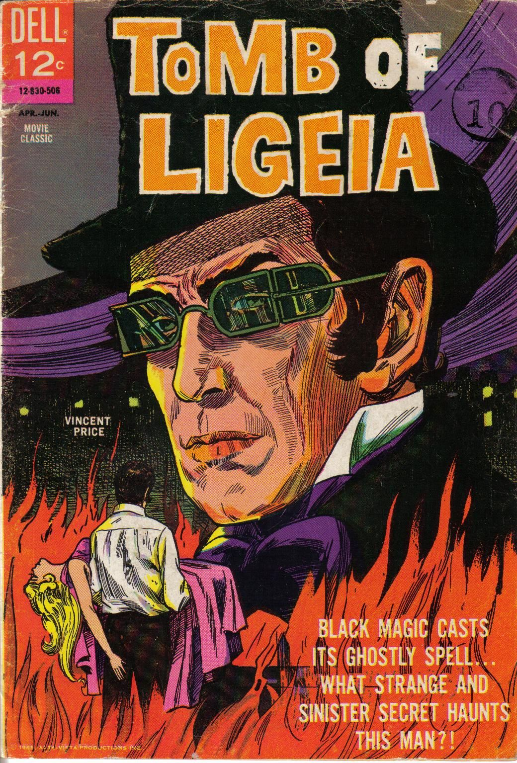 Vincent Price As A Comic Book Character Sporting Richardson Style