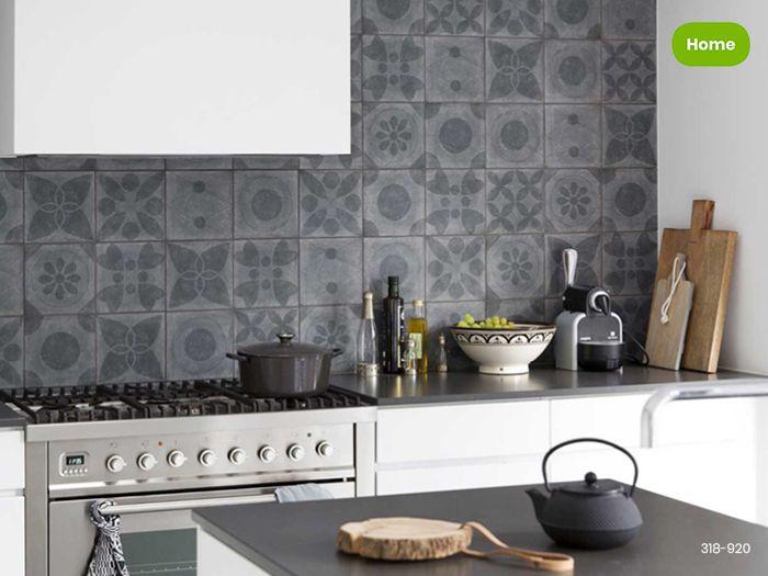 Groene Wandtegels Keuken : Inspiratie moderne keuken met wandtegels uit de serie neo van