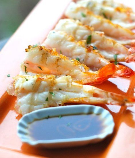 how to clean prawns for grilling