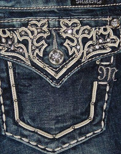 Miss Me Jeans Size 30 Style#JW5917B2 Boot Cut Signature-Rise Stretch Blue NEW! #MissMe #BootCut