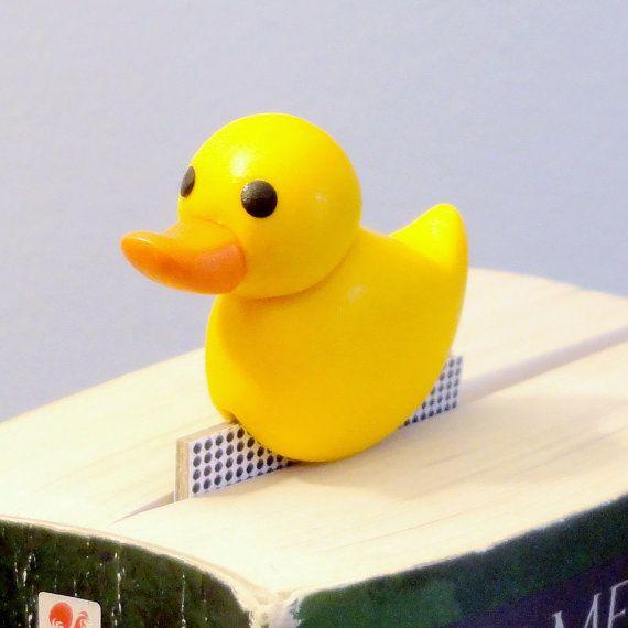 spooky polymer clay earrings Rubber duck earrings polymer clay earrings yellow witch rubber ducky earrings