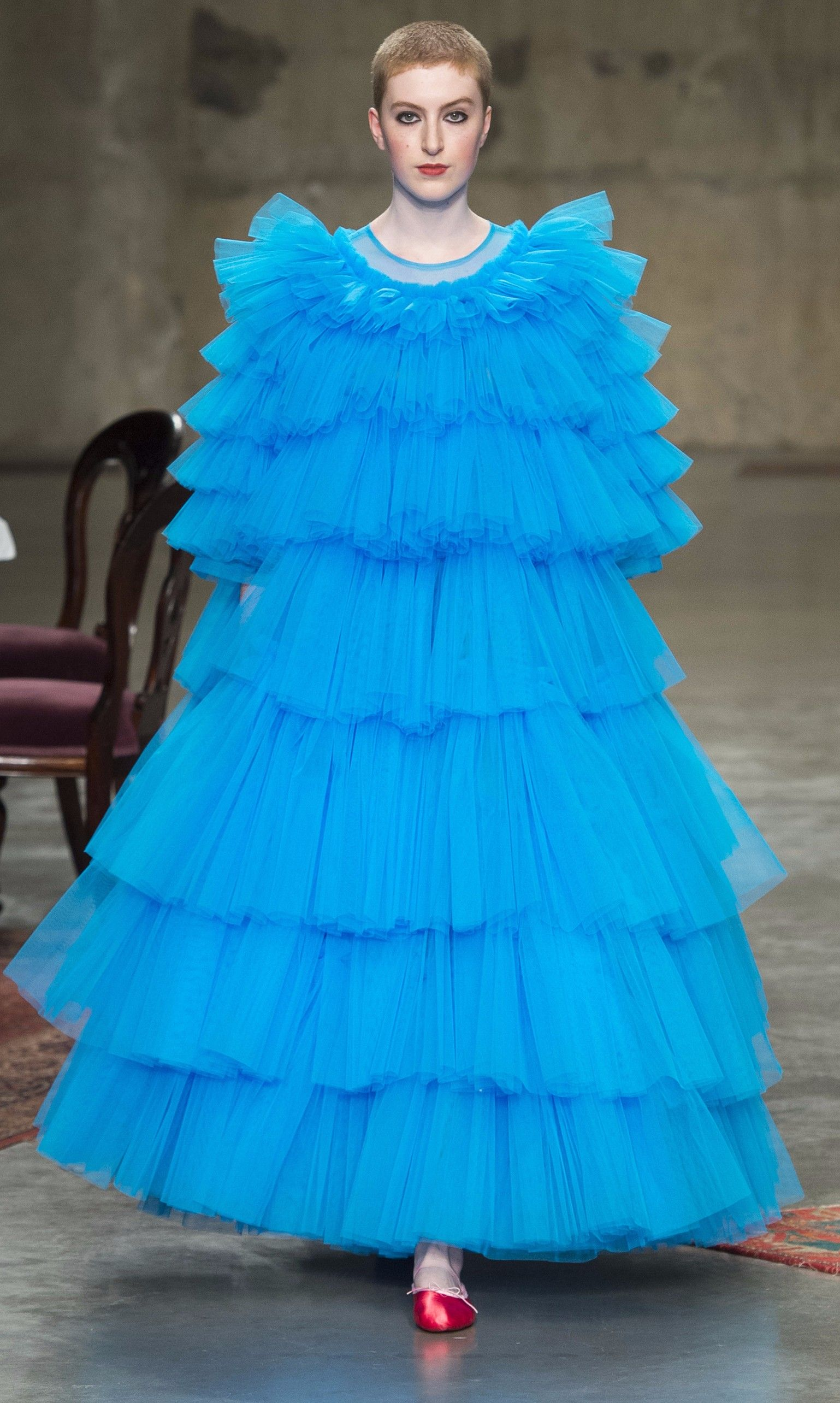 Everyone's Invited to Molly Goddard's Tulle Tea Party