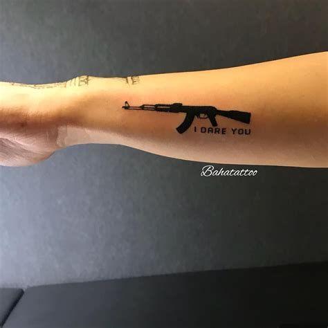 Hand Tattoo Ak 47 – Tatto Variant