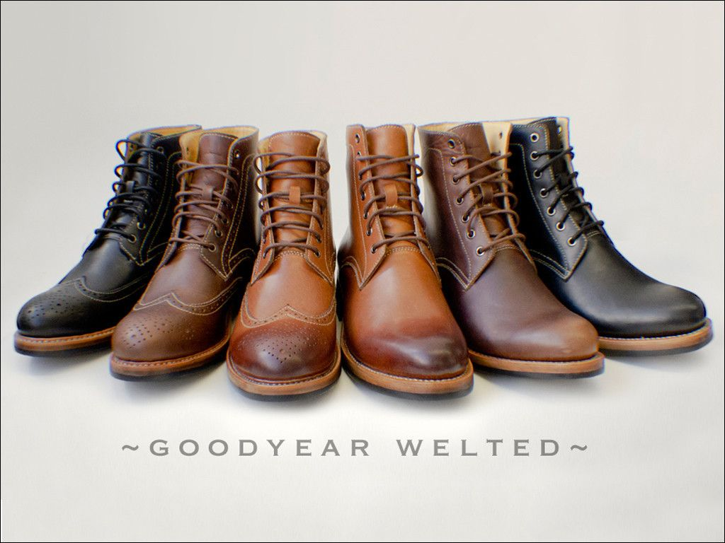 Goodyear-Welted Boots from Kendal & Hyde Co http://kendalhyde.com