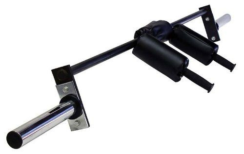 Safety Squat Bar With Neck Shoulders Support Fitness Gizmos Safety Squat Bar Squats Best Home Gym Equipment