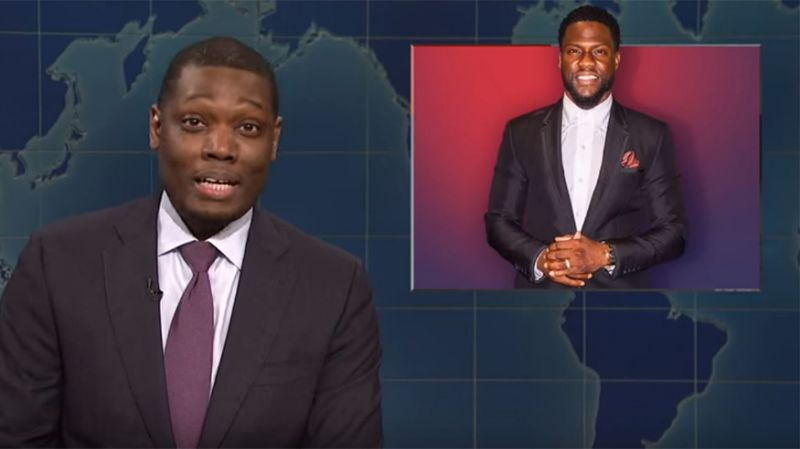 Michael Che Ribs Academy Over Kevin Hart Controversy On Snl Michael Che Kevin Hart In Hollywood