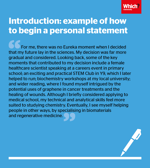 How To Write A Uca Personal Statement Which Example Medical Forensic