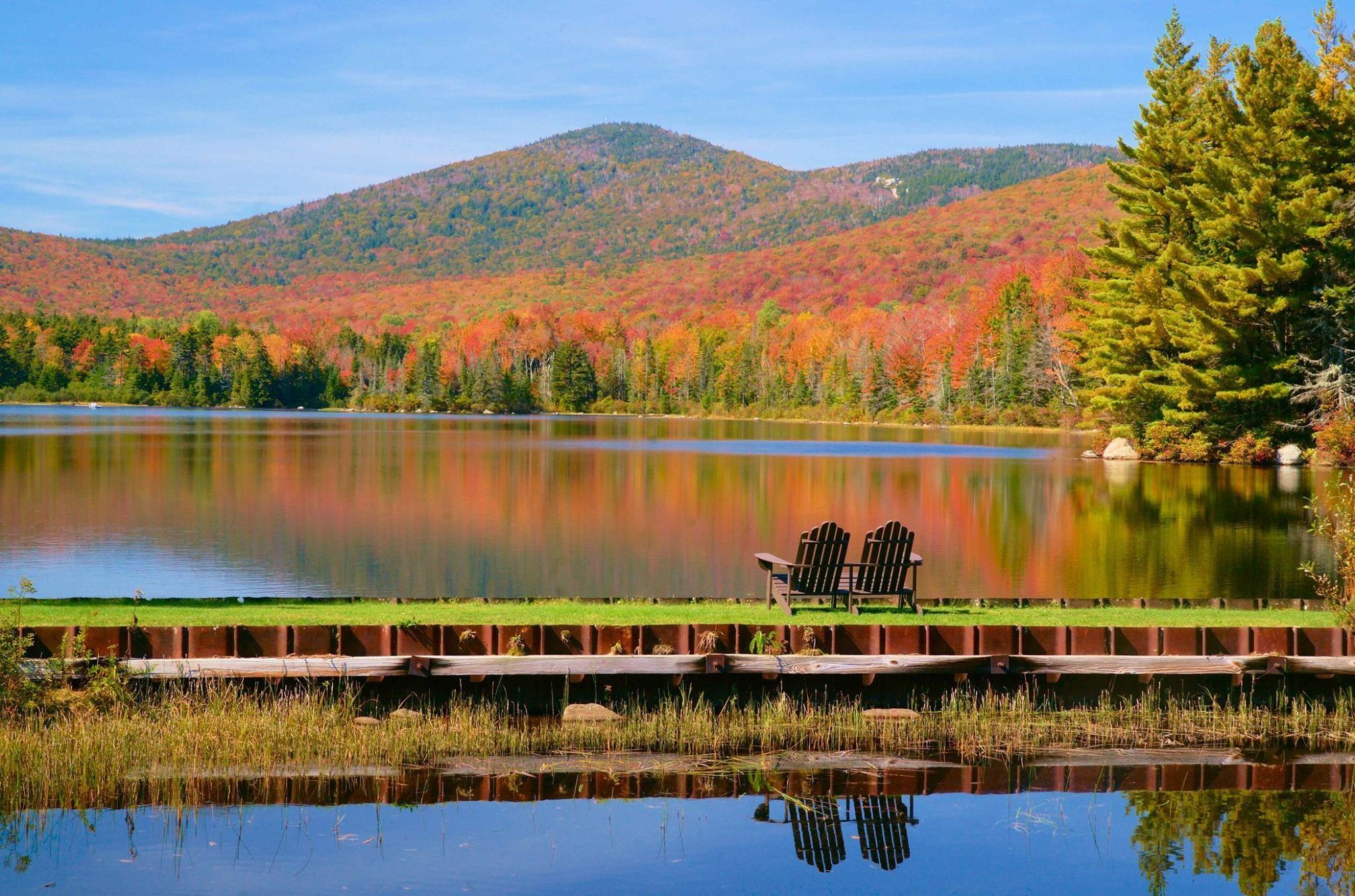 Noyes Pond Seyon State Park Groton Vermont John H Knox
