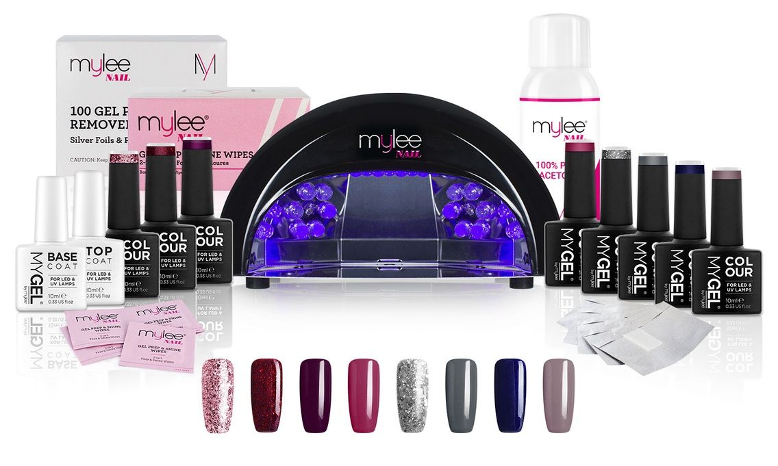 Mylee 36w Uv Lamp With Optional Gel Nail Essentials Kit Gel Nail Kit Nail Kit Nail Essentials