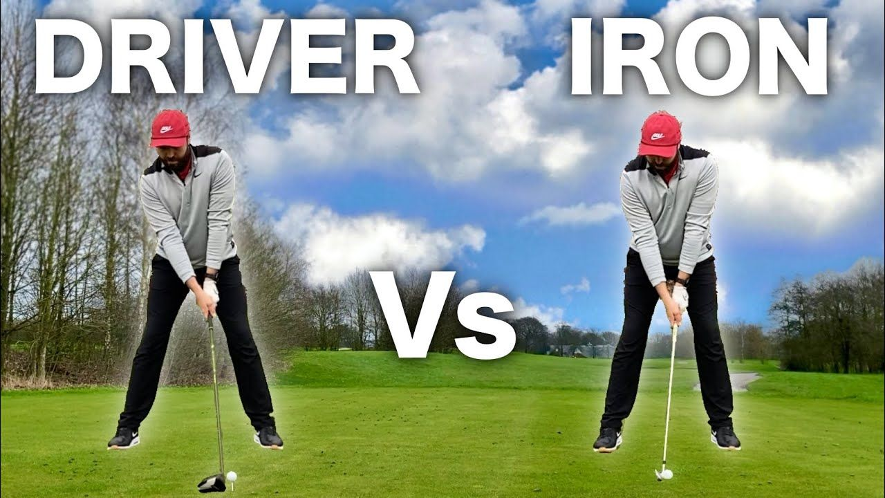 Is the Golf Swing Different For Woods and Irons?