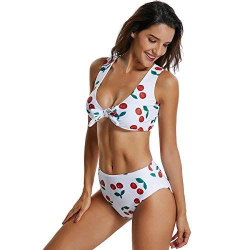 972d42d6487 KIWI RATA 2019 Womens Retro Triangle Bandage High Wasit Style Swimsuit  Padded Push Up Vintage Bikini Sets Swimwear,#Triangle, #Retro, #High,  #Bandage
