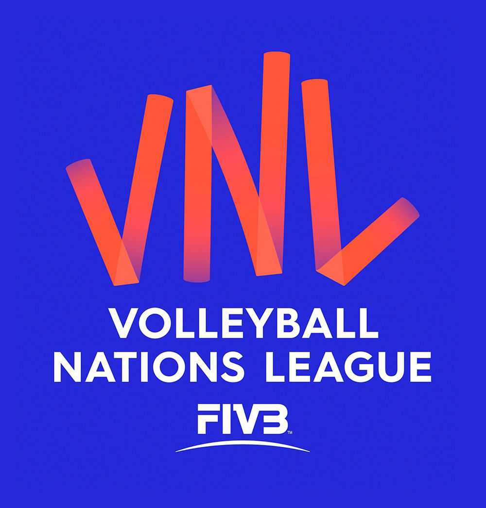 New Logo And Identity For Fivb Volleyball Nations League By Landor Logos Identity Logo National Sport