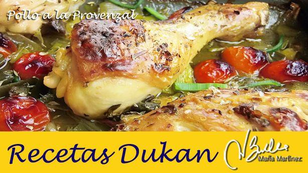 Pollo a la Provenzal, Receta (apto para dietas lowcarb: dieta Dukan fase Crucero, dieta Atkins, Paleo y Primal)