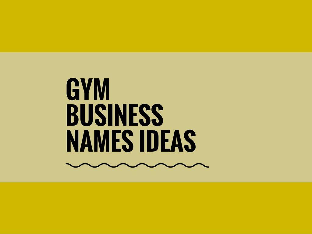 gym names | anotherhackedlife com