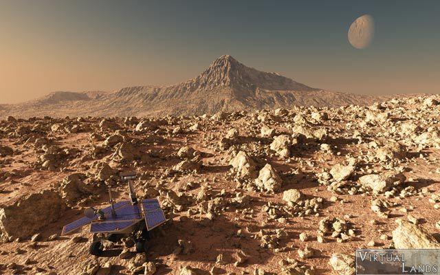 En Ayrıntılı Mars Panoraması…