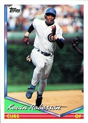 1994 Topps 119 Kevin Roberson Chicago Cubs Baseball Cards By