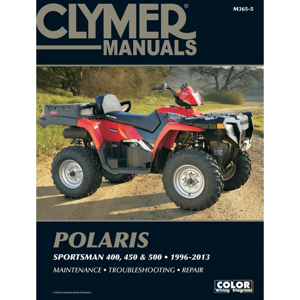 Details About Clymer M365 5 Repair Manual For Polaris 500 Sportsman 96 10 Clymer Repair Manuals Sportsman