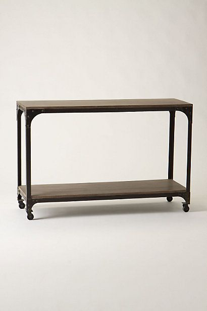 Decker Five-Shelf Bookshelf | Console tables, Consoles and ...