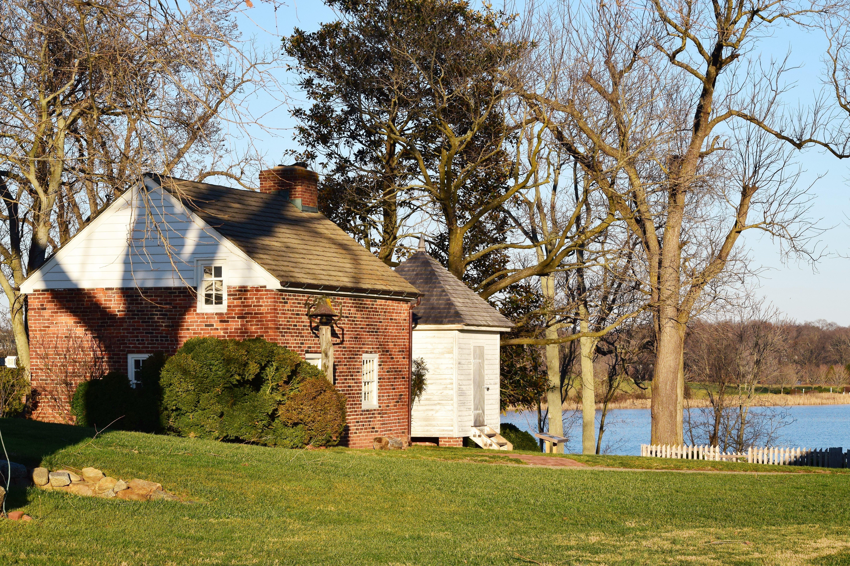 Kitchen and smoke houseMount Harmon, Earleville, MD in