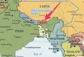 Map Of Asia Bhutan.Image Result For Bhutan Map Asia Countries To Visit Bhutan