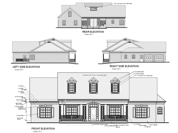 Rear Loading Garage House Plans – Rear Entry Garage House Plans