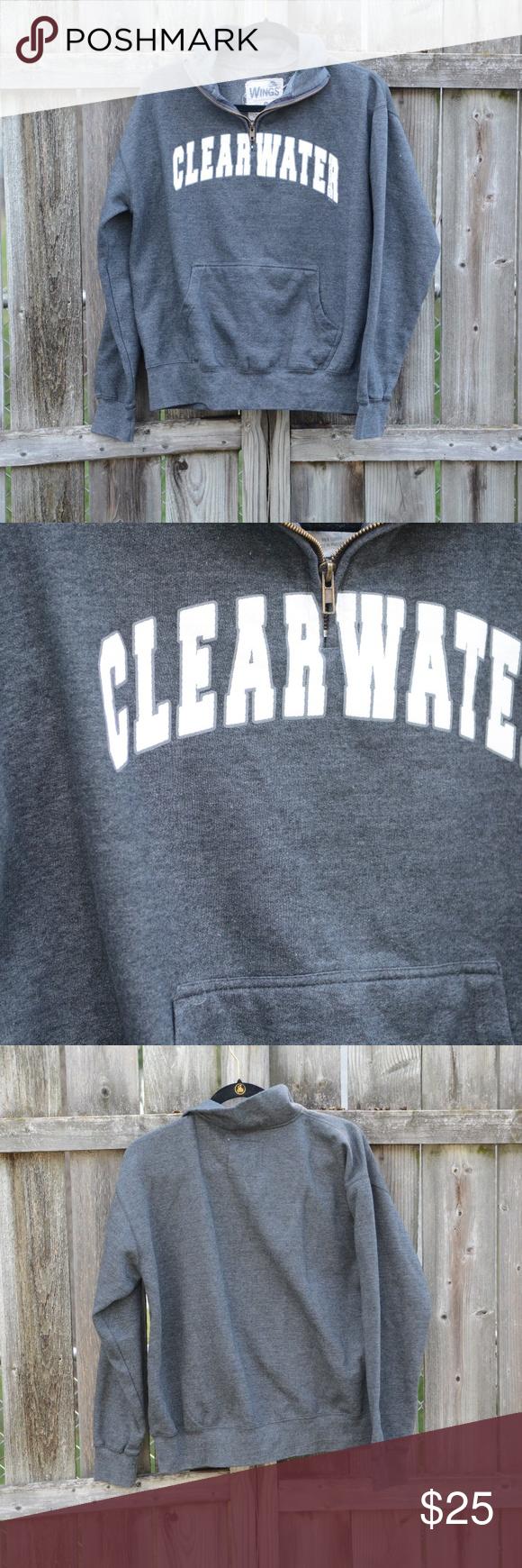 Clearwater Beach Quarter Zip Quarter zip with collar