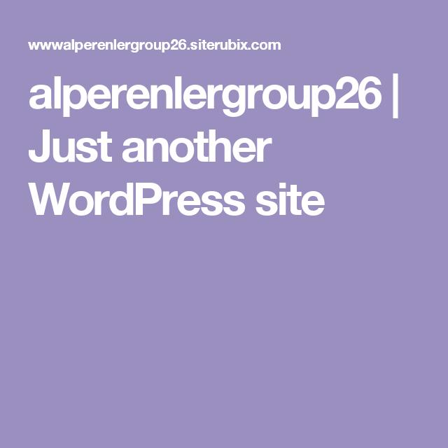 alperenlergroup26 | Just another WordPress site