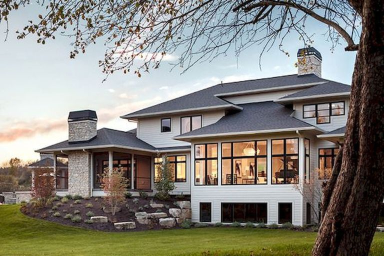 65 Stunning Modern Dream House Exterior Design Ideas 17 Googodecor House Exterior House Plans With Pictures Courtyard House Plans