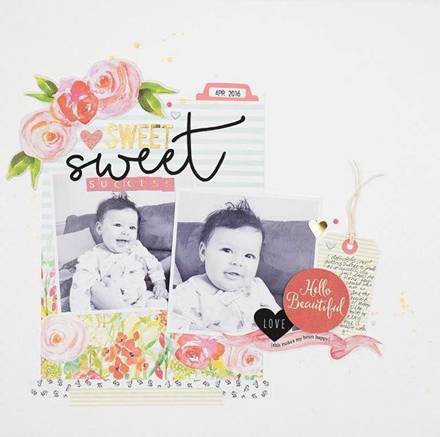 I have a new layout up on the @felicityjanestudio blog today using the Chloe kit. That kit is . Head over to felicityjane.com to see close-up photos and a process video! #scrapbooking #fjchloe #felicityjane