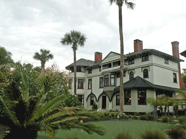 The John B Stetson House Known Locally As The Stetson Mansion