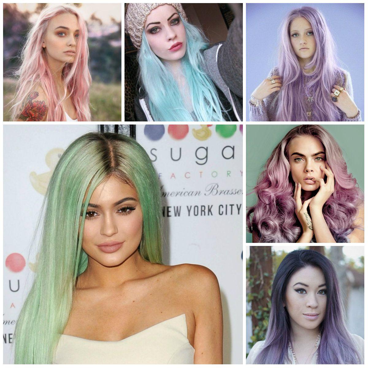 Best Rainbow Hair Colors 2016