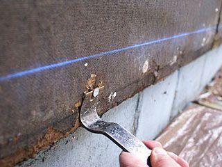 Removing nails in Celotex fiber board wall sheathing  | DIY