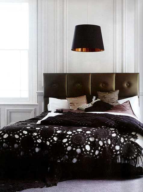 Lovely Black Gothic Bedding