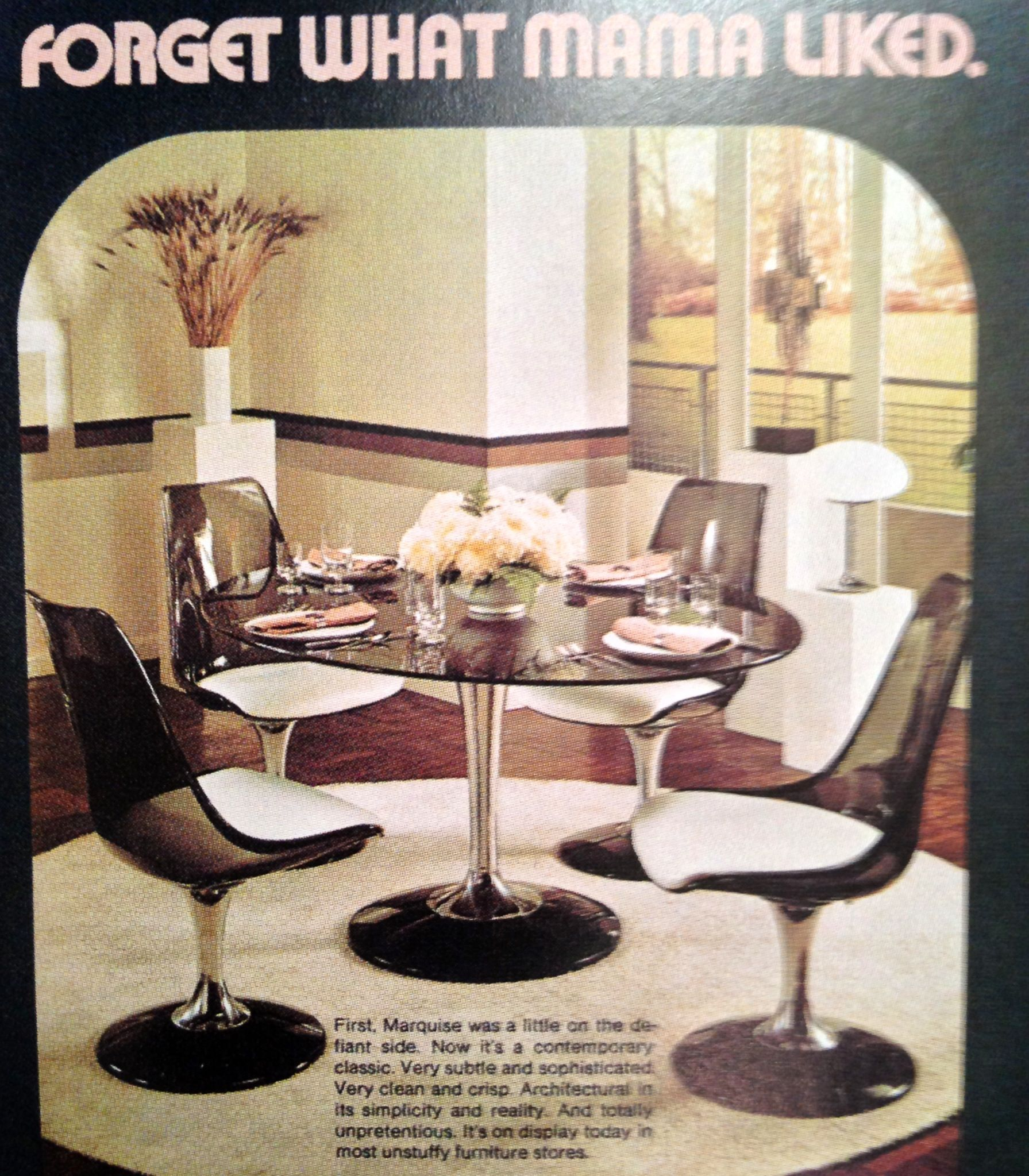Marketing Ideas Home Decor: Seventies Kitchen Dining Advertising