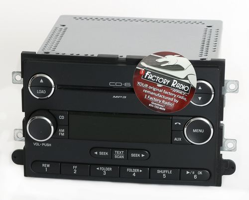 Remanufacture Service For 2008 Ford Expedition Radio Am Fm 6 Disc Cd Rhpinterest: 1999 Ford Expedition Factory Radio At Gmaili.net
