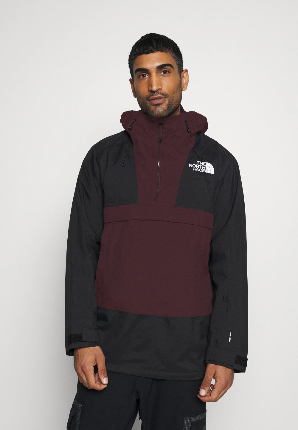 The North Face Silvani Anorak Ski Jacket Burgundy Black Burgundy Zalando No The North Face Ski Jacket Anorak [ 1443 x 1000 Pixel ]