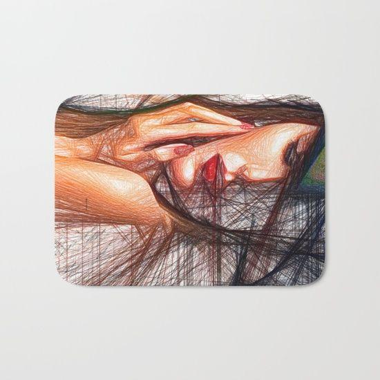 Fashion Flair #BathMat By Rafael Salazar