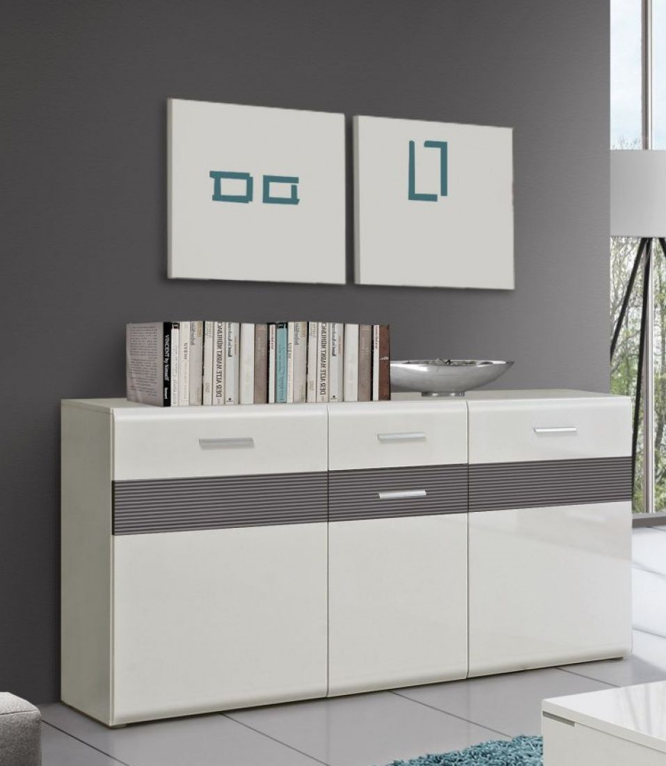 Attraktiv Sideboard Grau Weiß Dekoration Von Genial Weiß