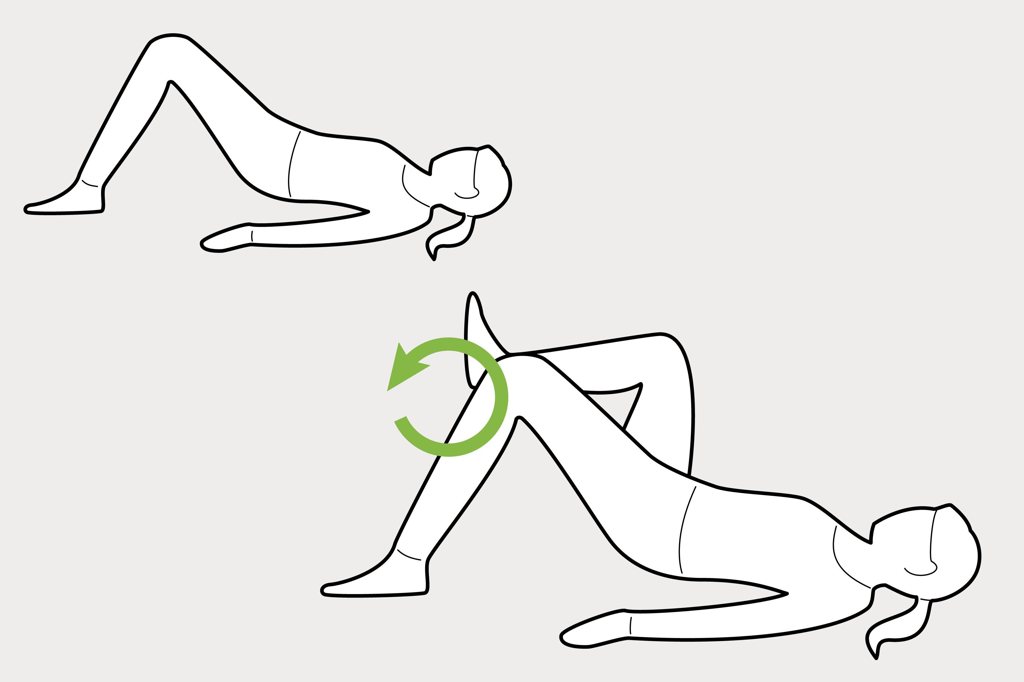 Beckenbodentraining im Liegen - 6 Beckenboden Übungen • INSENIO