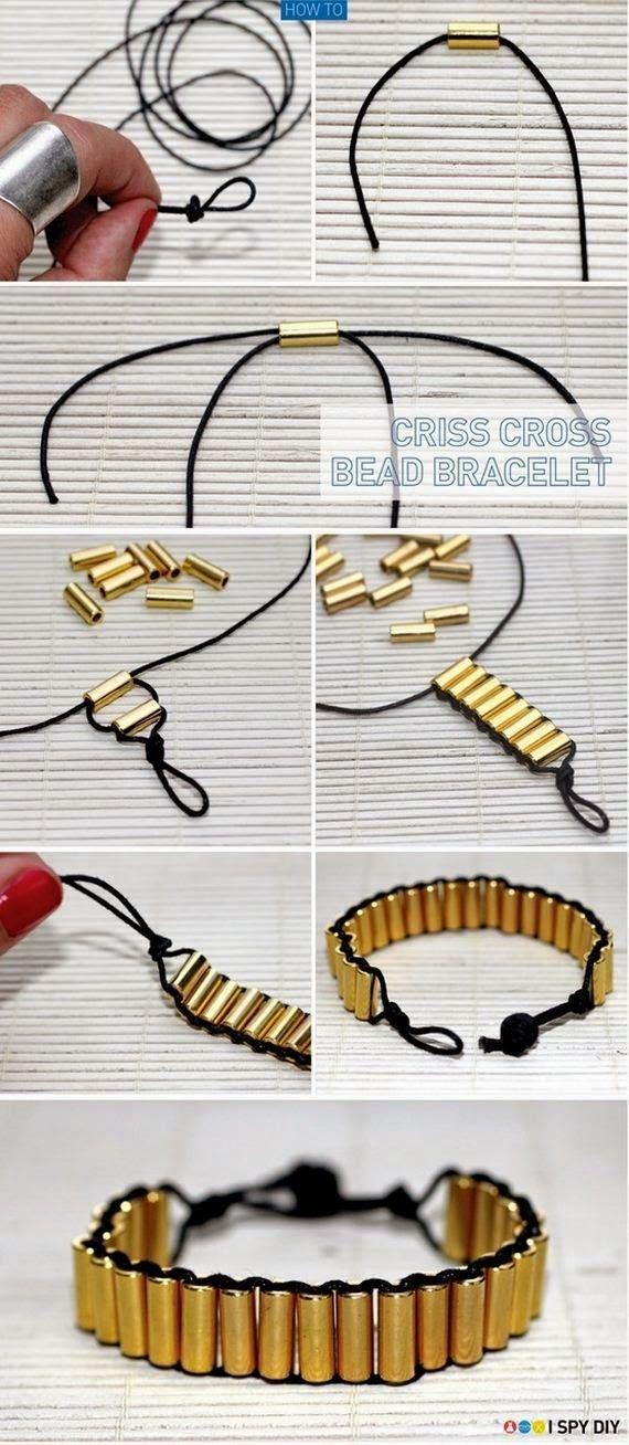 Photo of The Criss Cross Bead Bracelet